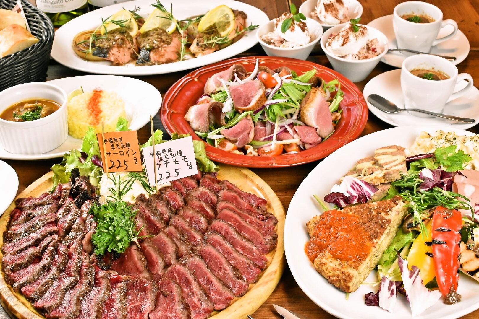 Lボーンステーキ 肉祭り